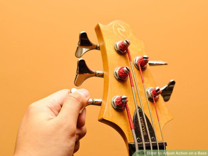 Image titled Adjust Action on a Bass Step 1