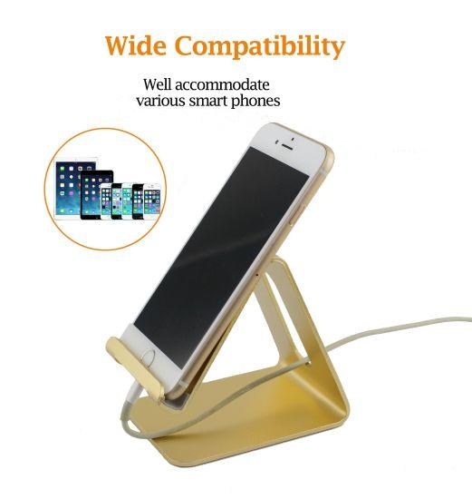 Potable & Adjustive Metal Smartphone/iPad Stand