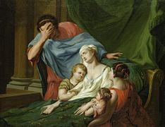 Admetus beweint Alkeste by Johann Heinrich Tischbein (circa 1780)