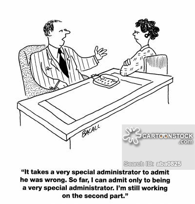 Administrating cartoon 4 of 11