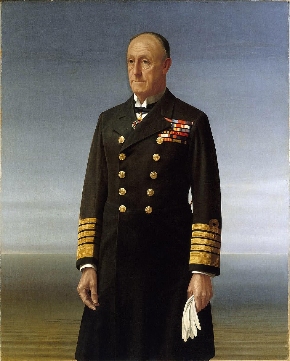 Admiral of the Fleet John Jellicoe, 1859-1935, 1st Earl Jellicoe