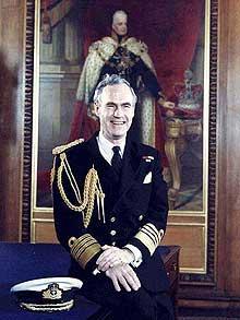 Admiral of the Fleet Sir Julian Oswald
