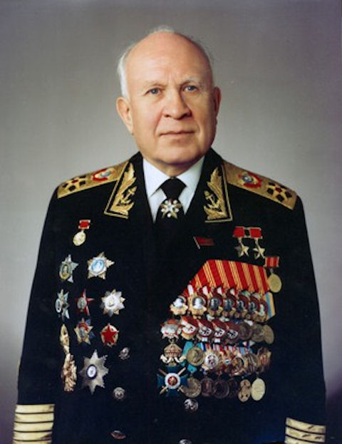 In 1948-51 years S. G. Gorshkov was chief of staff of the Black Sea fleet  and 1951-55 commander of the Black Sea fleet. From July 1955 Admiral  Gorshkov was