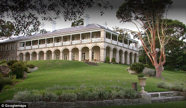 Admiralty House in Kirribilli was built in 1842 and often plays hosts to  guests of the