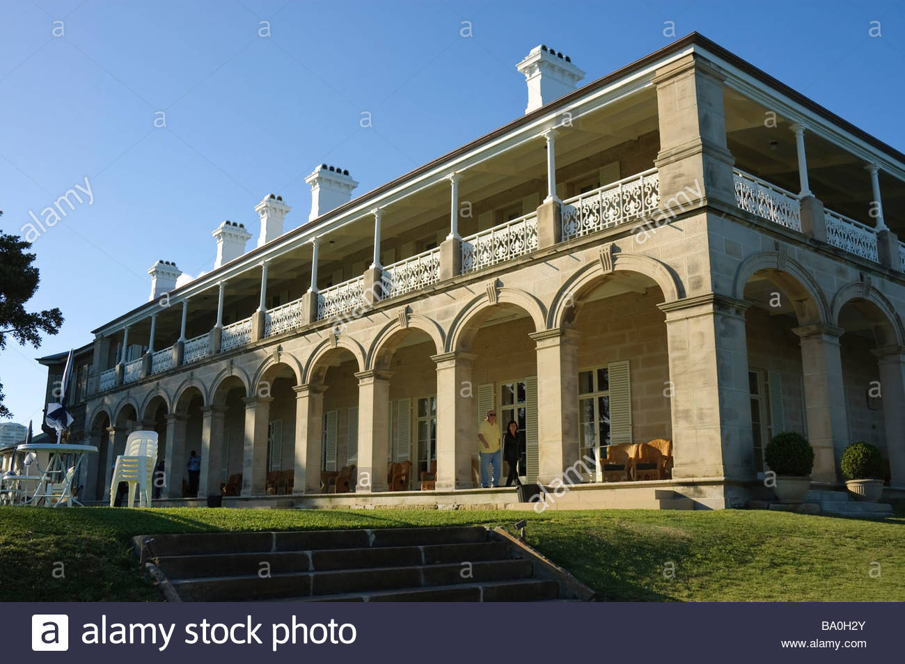 Admiralty House, official Sydney residence of the Governor General of  Australia; visiting dignitaries often stay here.