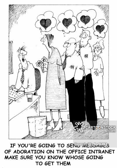 Secret Admirers cartoon 4 of 16