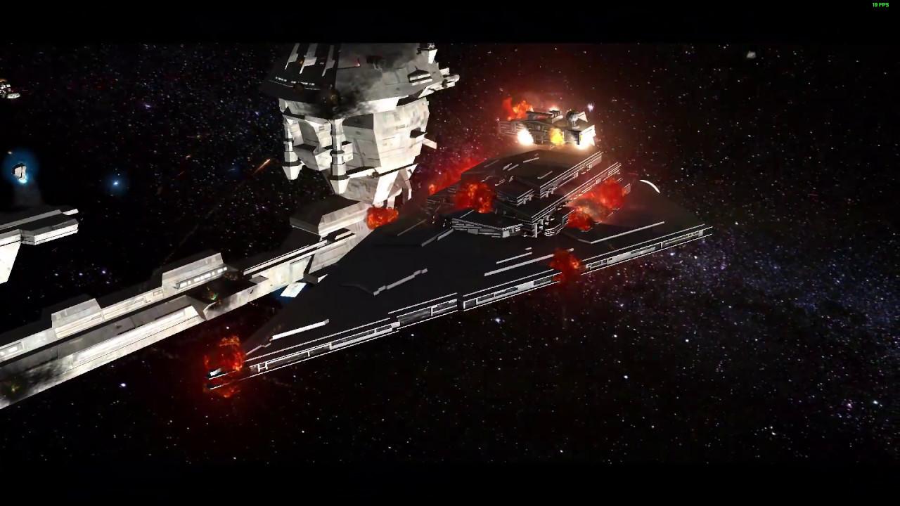 Star Wars: Empire at War FoC - Destruction of the Admonitor