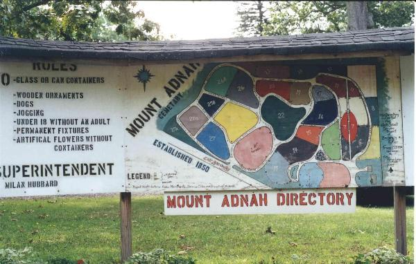 Mt. Adnah Cemetery Directory