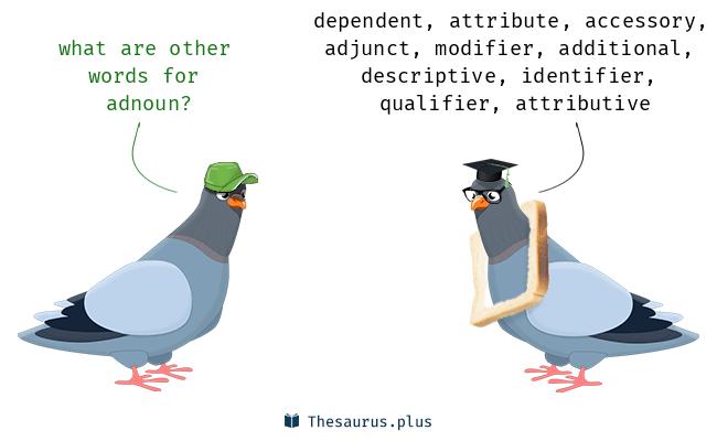 Synonyms for adnoun