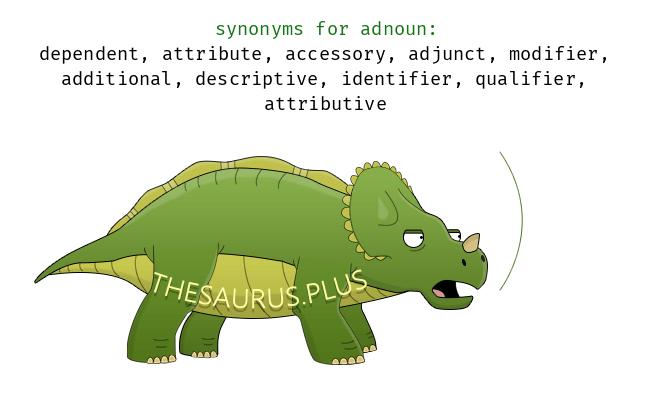 Similar words of adnoun
