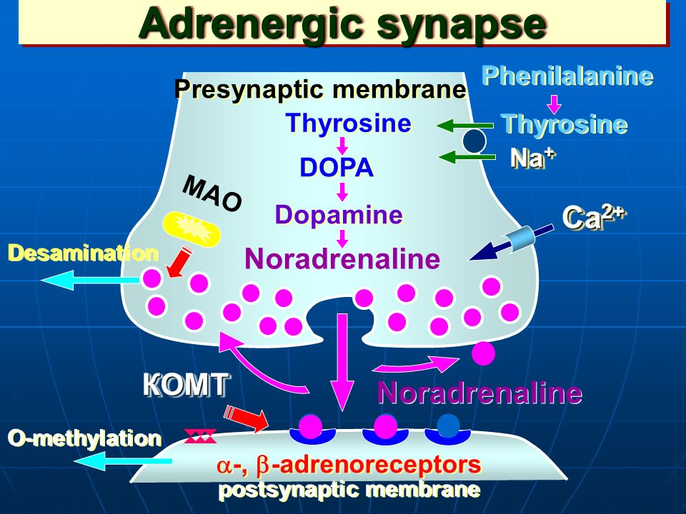 adrenotropic