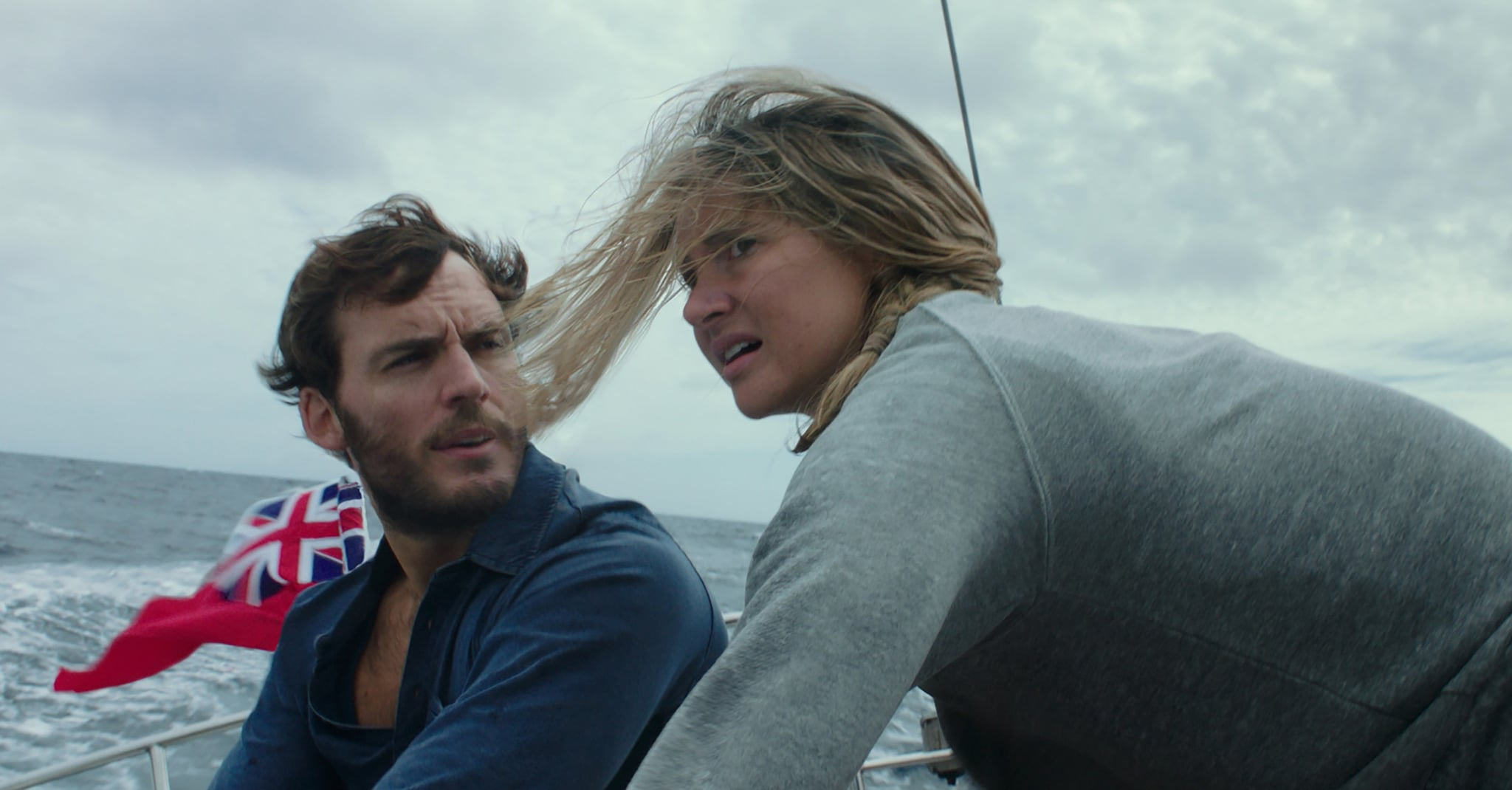 Shailene Woodley and Sam Claflin are going to make you rethink your  daydream about sailing around the world when their new movie, Adrift,  premieres on June