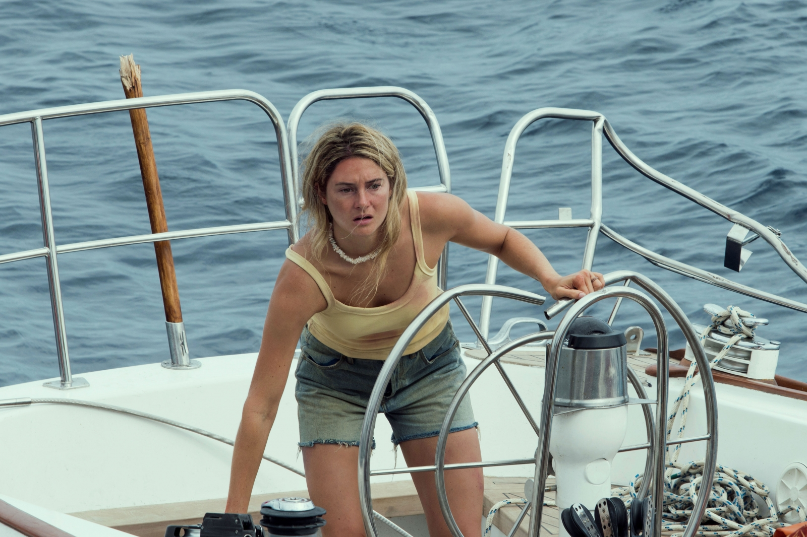 Shailene Woodley is lost at sea. Unfortunately, so is the script to this  drama.