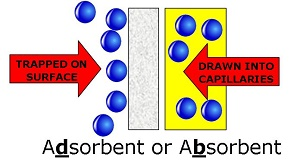 Adsorbents or Absorbents?
