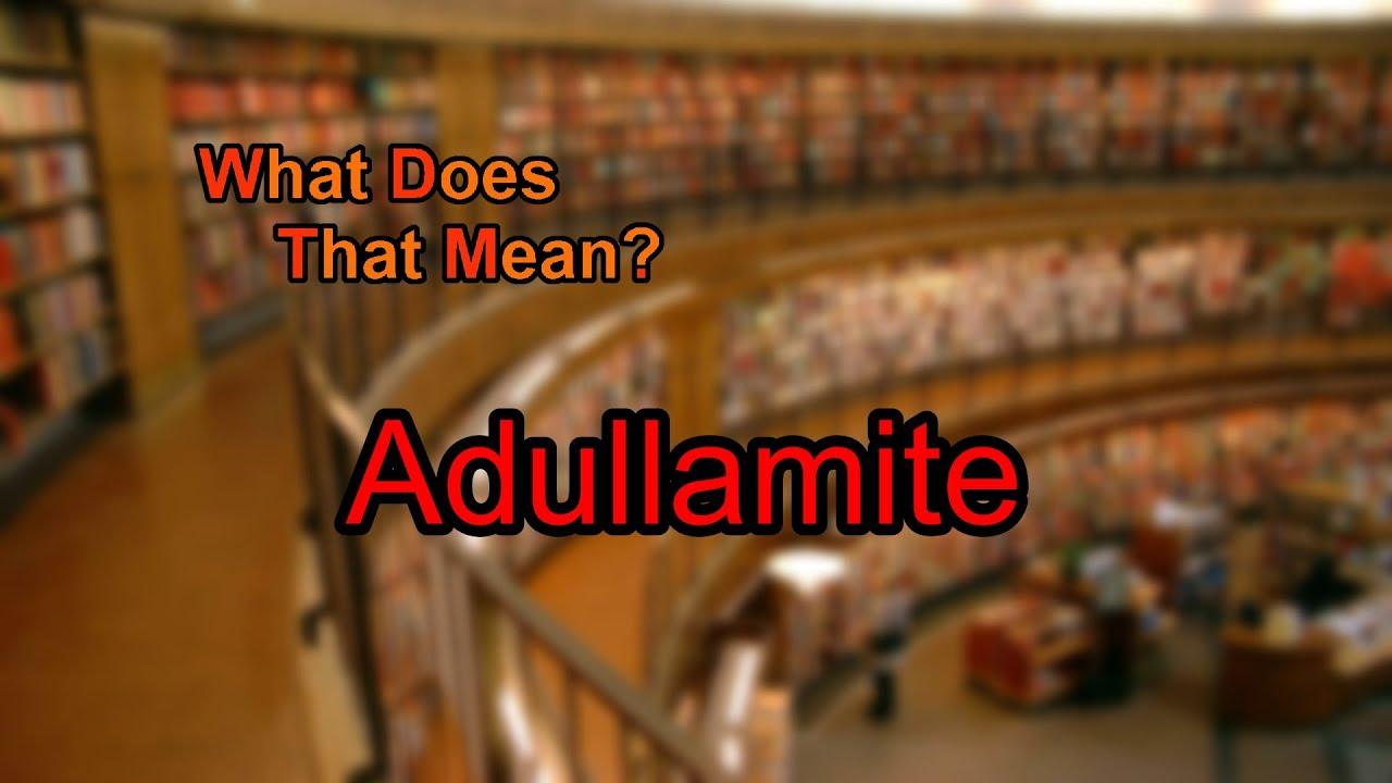 adullamite