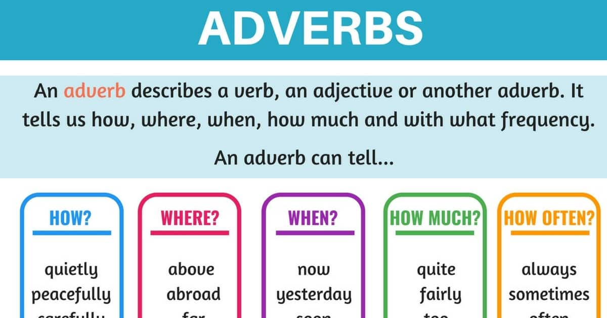 English Adverbs: A Complete Grammar Guide 1