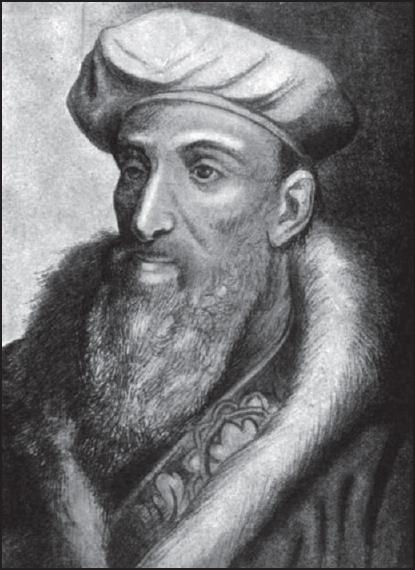 Figure 1: Bartolomeo Eustachi.