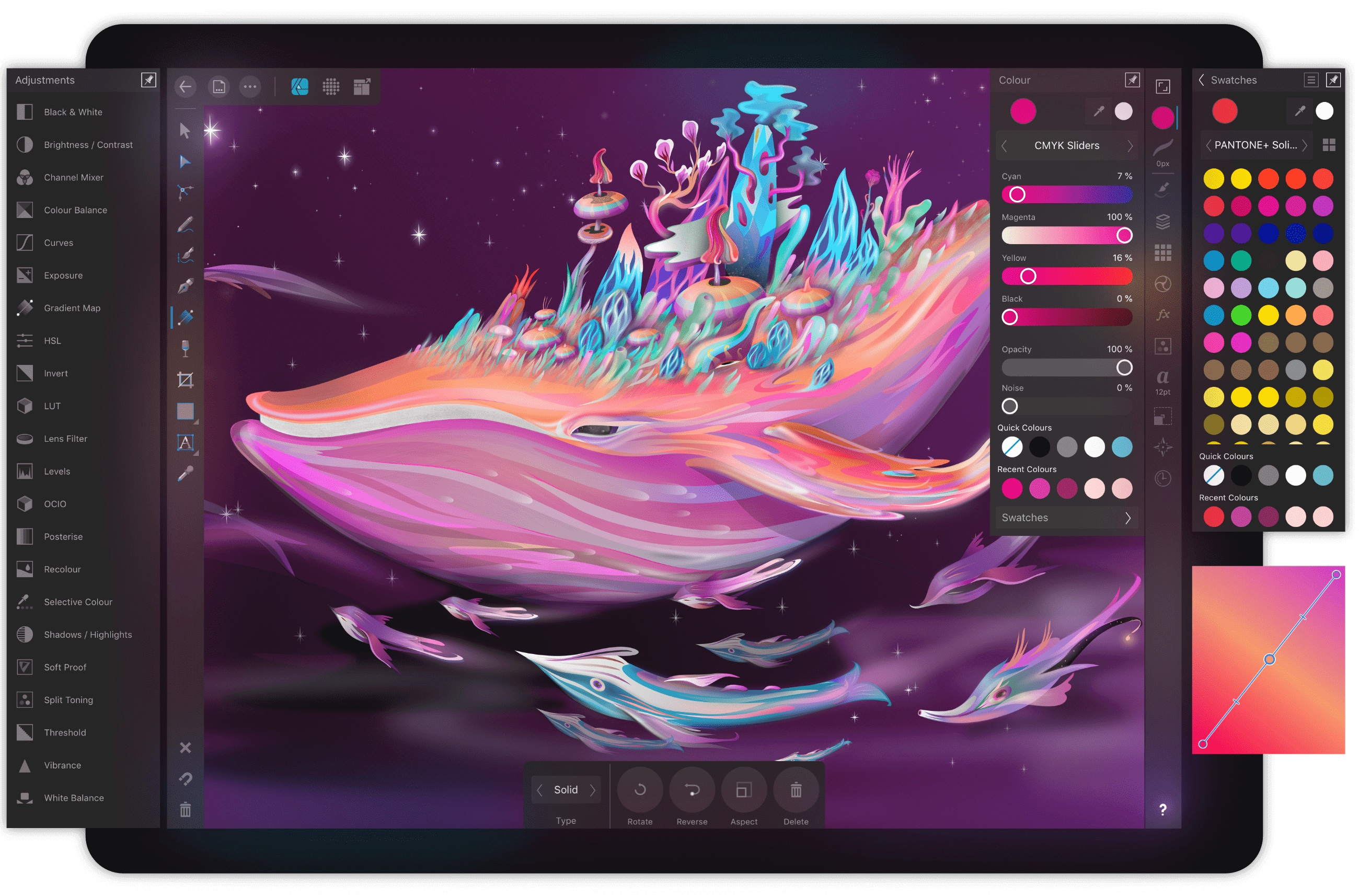 Affinity Designer Debuts on iPad as a Full-Featured Graphic Design Tool