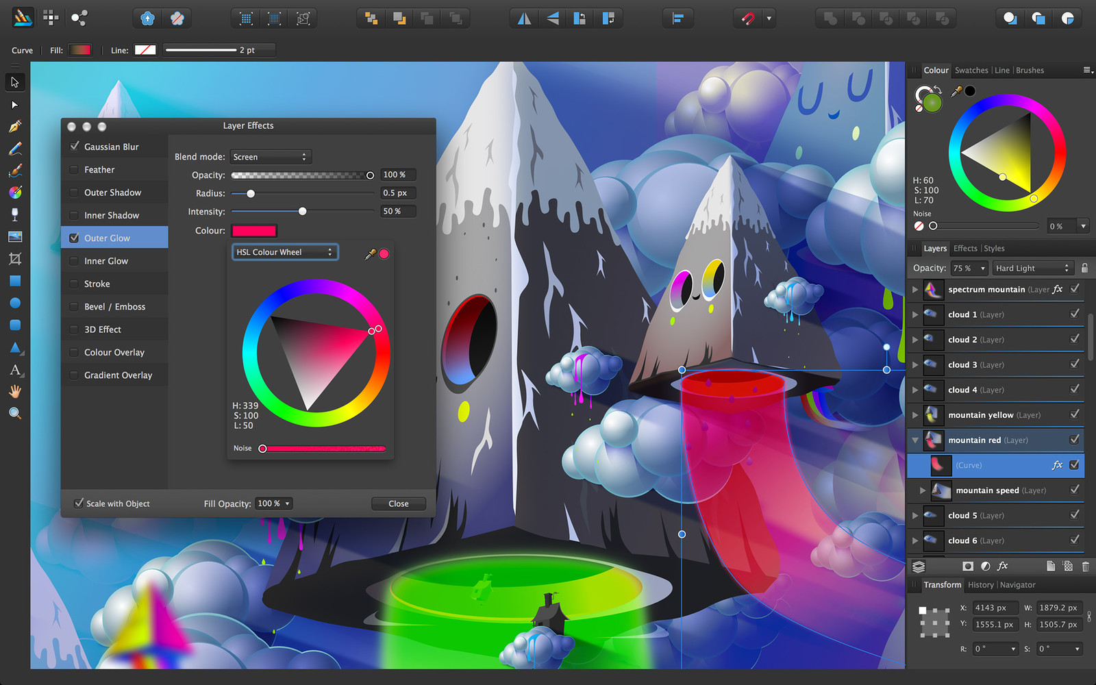 Affinity Designer is a new graphics design suite available for Mac