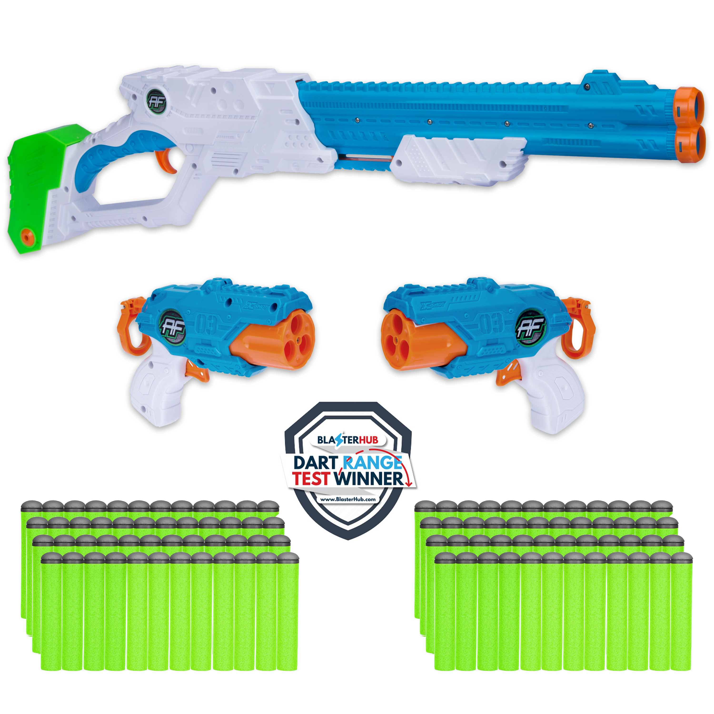 Adventure Force Afflicter Combo Pack (Includes 3 Blasters & 97 Darts)