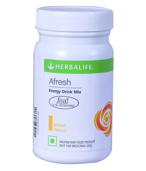 Herbalife Afresh Energy Drink Mix Lemon Flavour 50 gm