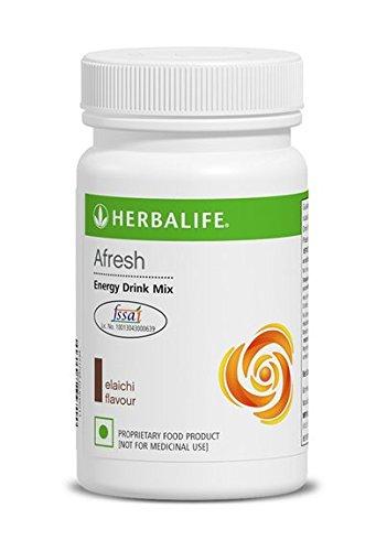 Herbalife Afresh Energy Drink Mix Elaichi Flavor - 50g (1)