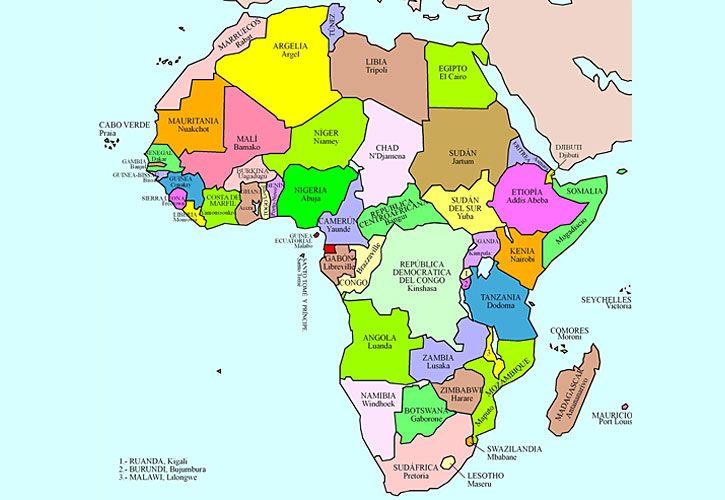 complejo. Un continente con 54 países y más de mil millones de habitantes.