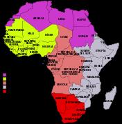 Regiones de África según la ONU