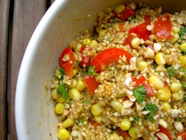 African Millet Salad