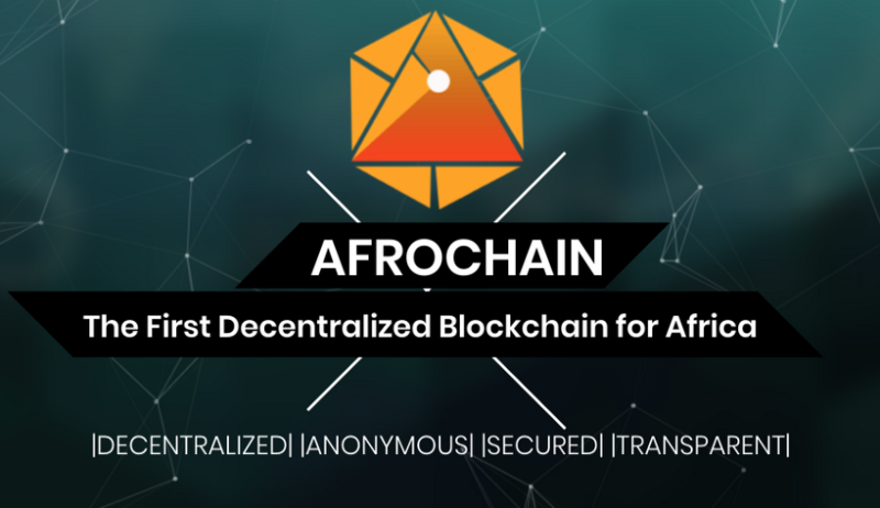 AFRO chain The first decentralized blockade for Africa