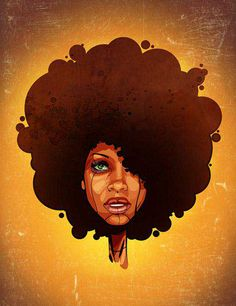 Afrocentric photo by Ntsundu | Photobucket Natural Hair Art, Natural Hair  Styles, Natural Girls