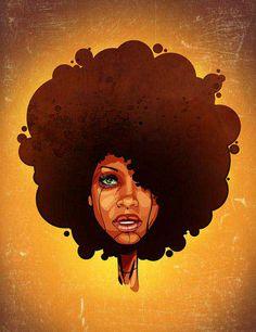 Afrocentric photo by Ntsundu | Photobucket Natural Hair Art, Natural Hair  Styles, Natural Girls