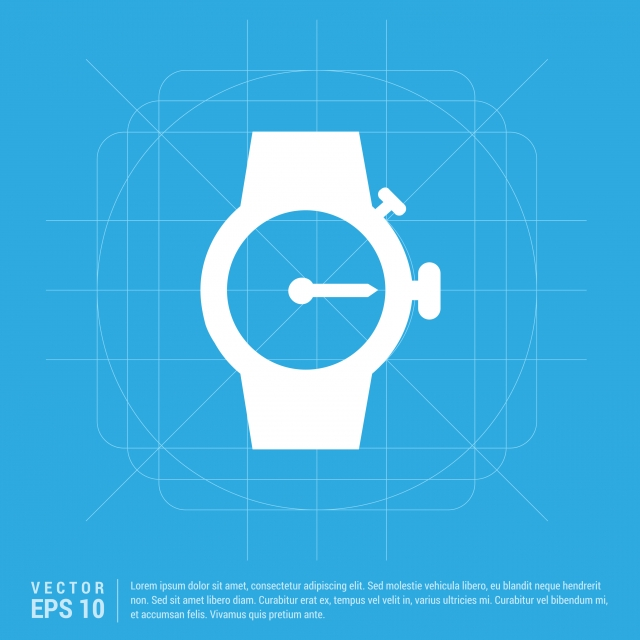 wrist watch icon, 24, Afternoon, Alarm PNG and Vector