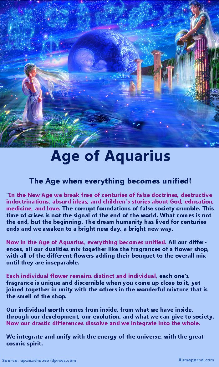 What lies ahead for Humanityin the age of Aquarius?
