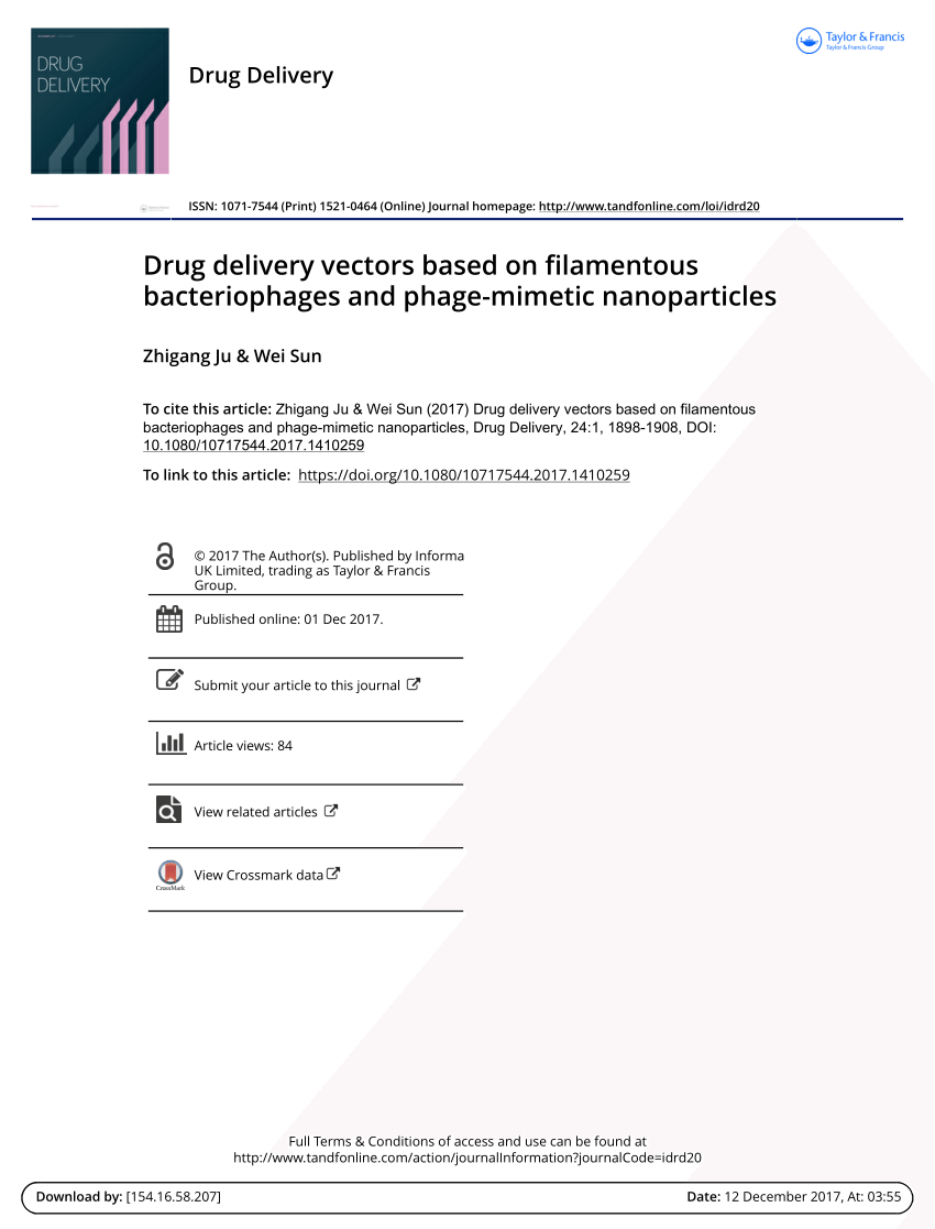 The effect of an agglutogen on virus infection: Biotinylated filamentous  phages and avidin as a model   Request PDF
