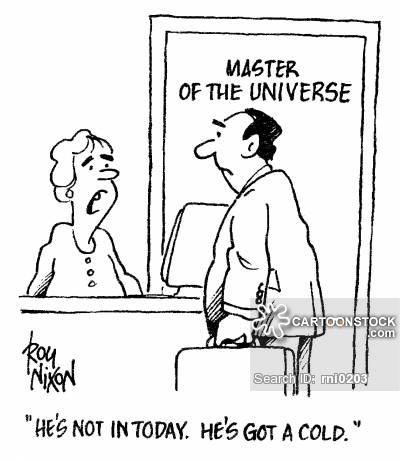 Self-aggrandizement cartoon 2 of 4