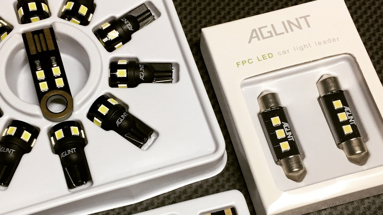 Mail time and AGLINT LEDs review