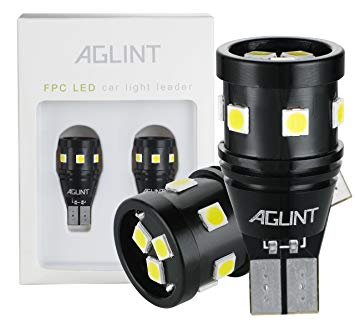 AGLINT 921 LED Bulb CANBUS Error Free Non-Polarity 9-SMD 3030 Chipsets  Extremely