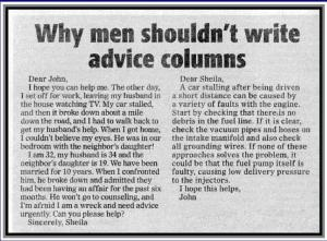agony uncle