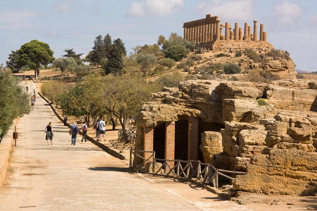 La antigua Akragas tenía una historia llena de acontecimientos, digna de  una gran ciudad.