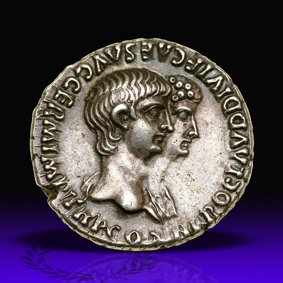 Lot 3121 Lot 3121 Nero, with Agrippina II. Silver Denarius (3.65 g)