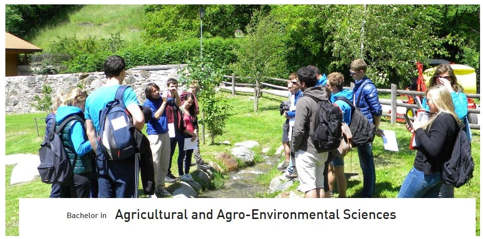 Bachelor in Agricultural and Agro-Environmental Sciences