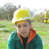 Mariam Etsadashvili, 23, is a agro technician specialist. She is a resident  of the village Plavismani, Tkviavi territory community, Gori district.