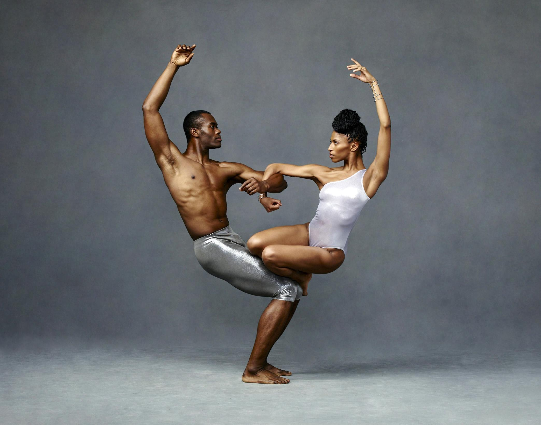 Jamar Roberts and Jacqueline Green, photo by Andrew Eccles