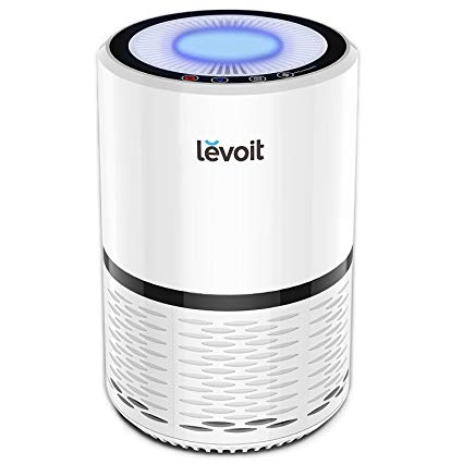 LEVOIT LV-H132 Air Purifier with True HEPA Filter, Odor Allergies  Eliminator for Smokers
