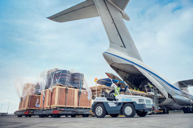 Air freight traffic is on course for a record year