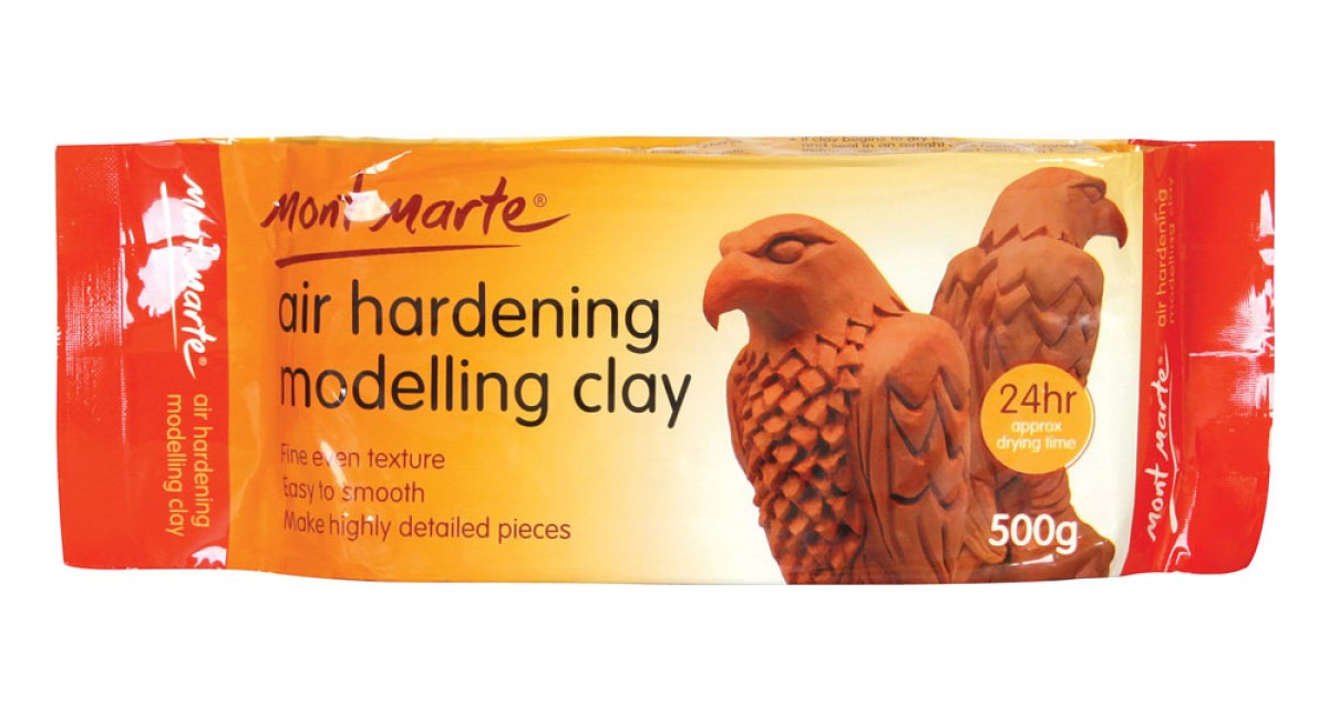 M.M. Air Hardening Modelling Clay - Terra 500gms | MontMarte International  Pty Ltd