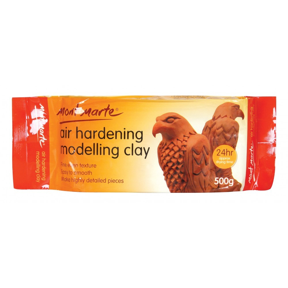 Mont Marte Air Hardening Modelling Clay - Terra 500gms