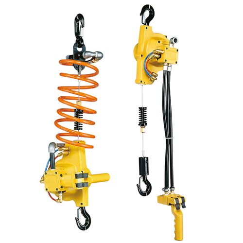 Yellow EHW Wire Rope Air Hoist