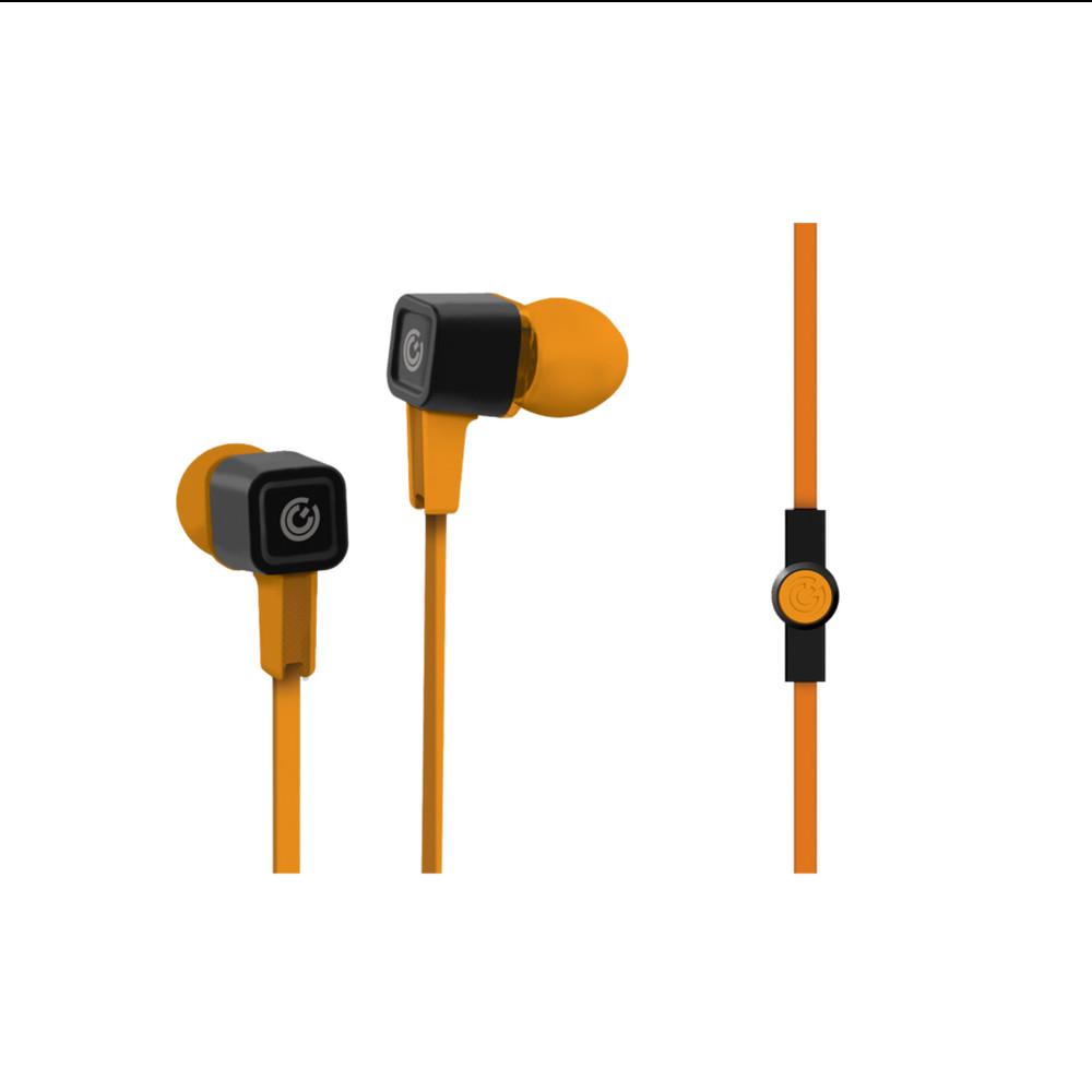 Sonic Gear Air Plug 300 Earphone with Mic - Orange. ‹ ›